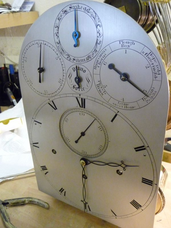 Rare English musical bracket clock